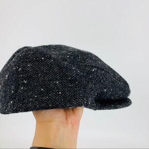 Vintage John Hanly Ireland donegal wool tweed cap